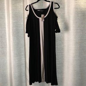 NWT. Cold-shoulder, Sheath Dress